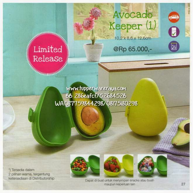 Promo Tupperware Maret Avocado Keeper