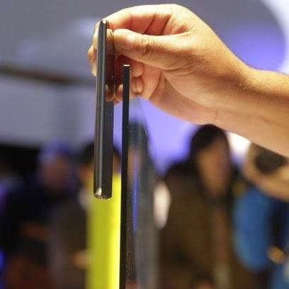 Destaque da maior feira de eletrônicos do mundo Sony apresentou TV mais fina que smartphone