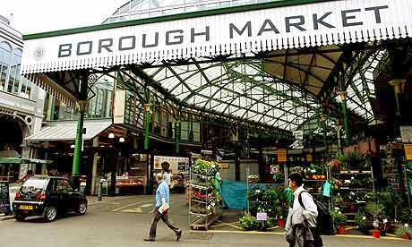 Borough Market London UK