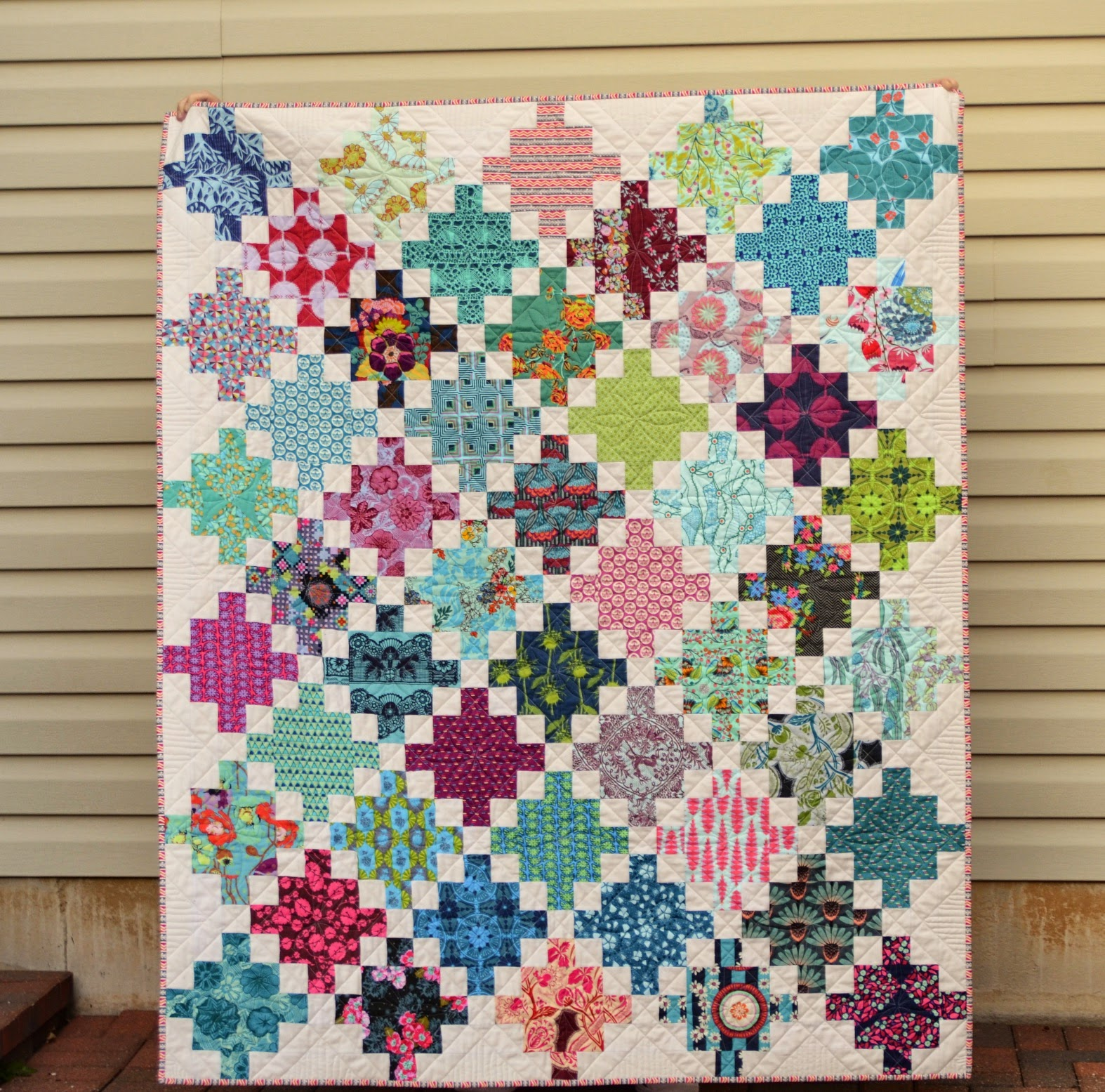 Quilt Patterns With 6 Inch Squares : Hyacinth Quilt Designs: An Irish Chainish Quilt?