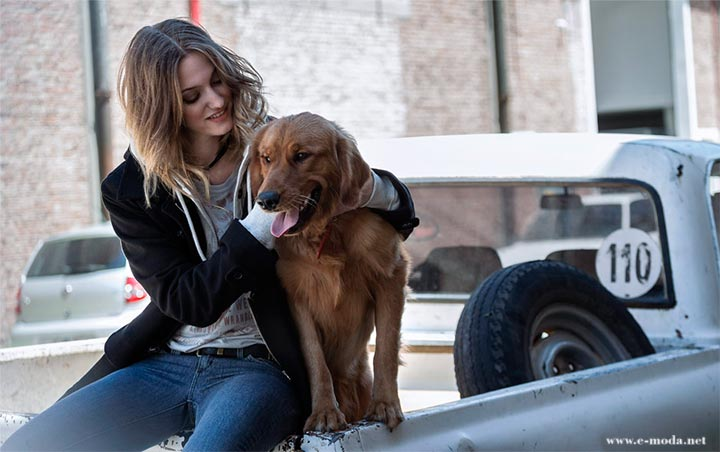 Jeans Wrangler para mujer. Campaña invierno 2013