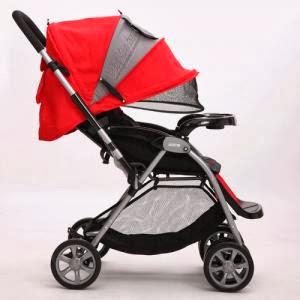 Xe đẩy em bé 2 chiều đa năng justin e592
