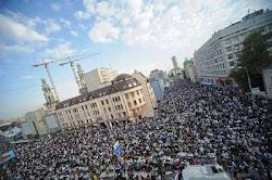 صلاه العيد فى موسكو (أغسطس 2012)