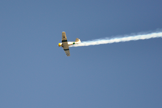 Los Angeles Air Raid via Lady by Choice