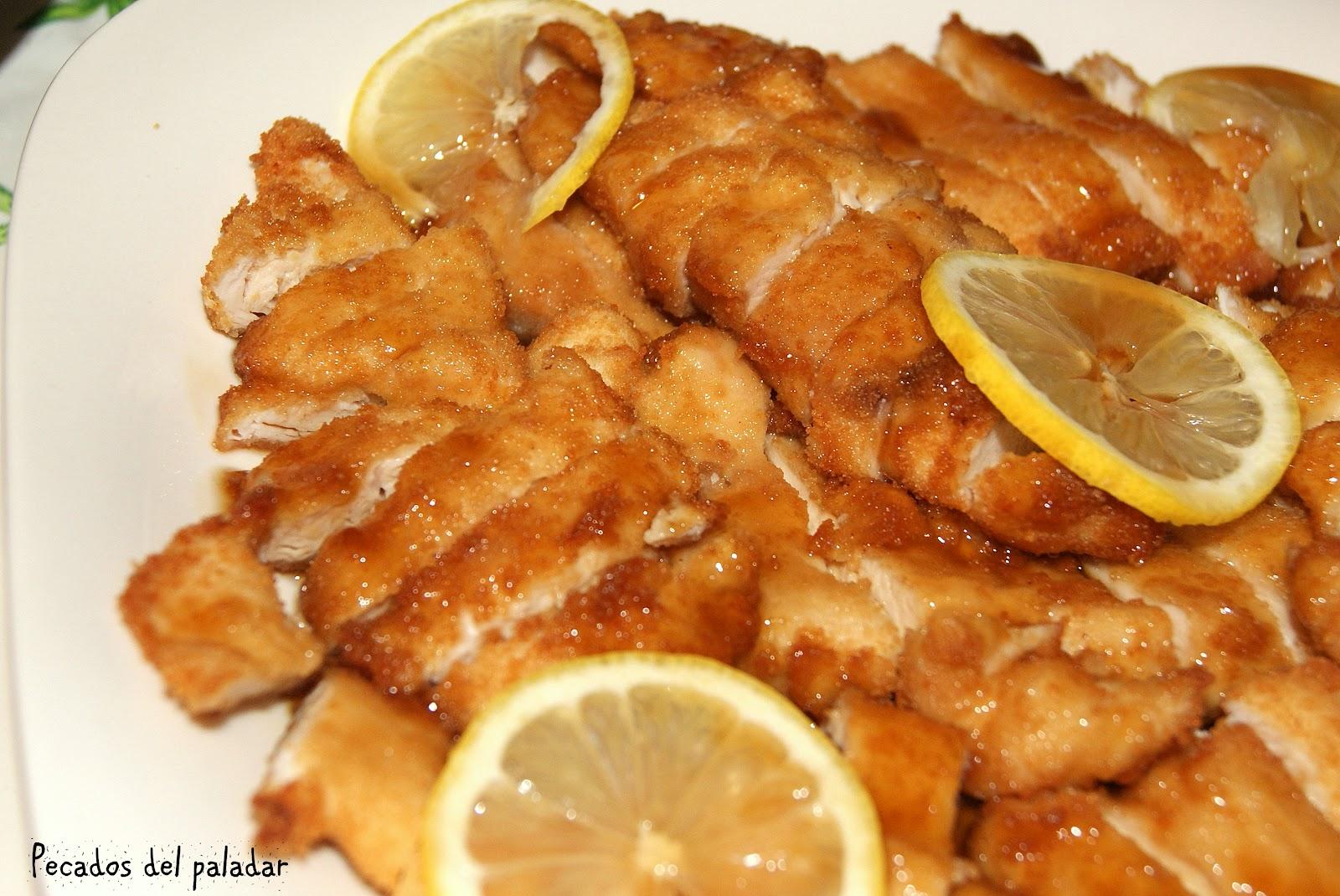 Pecados del paladar pollo al lim n estilo chino - Salsa de pollo al limon ...