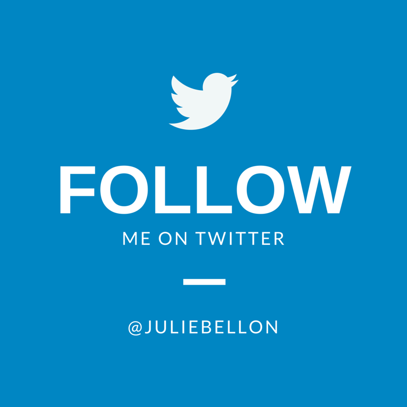 Follow Julie on Twitter