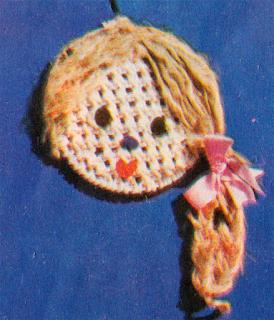 Как сплести портрет девочки в макраме? Схема плетения портрета девочки.