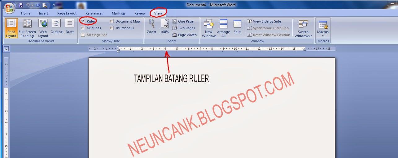 Cara Membuat Daftar Isi Ms Word 2007 Lebih Rapi | cara