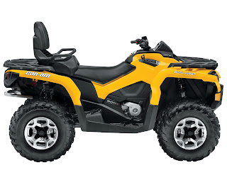 2013 Can-Am Outlander MAX DPS 800R ATV pictures 3