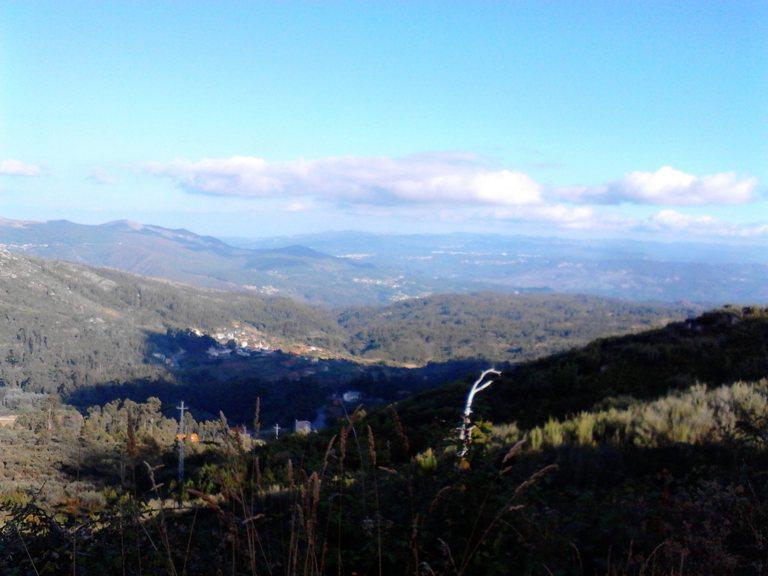 Vista para A Serra da Estrela