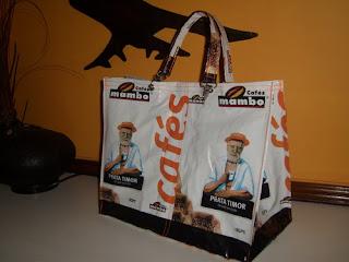 Malas e sacos de embalagens de café