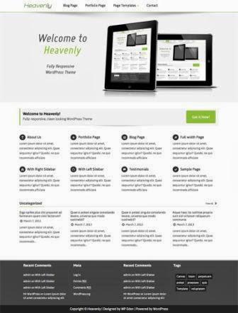 Heavenly – Multipurpose WordPress Theme free