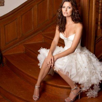 Dicas para quem quer usar vestido de noiva curto