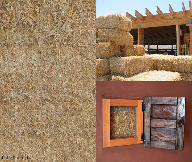 Contemporary building with natural materials – straw