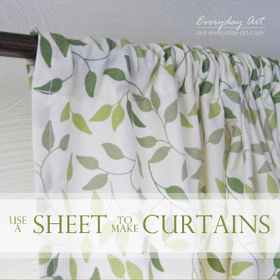 http://www.our-everyday-art.com/2013/05/sheet-curtains.html