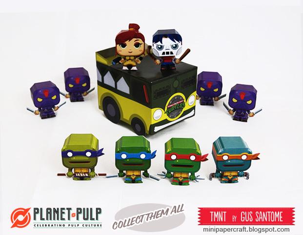 TurtleVan Paper Toy