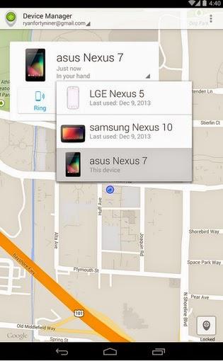Aplicaciones gratis Android - Administrador de dispositivos Android