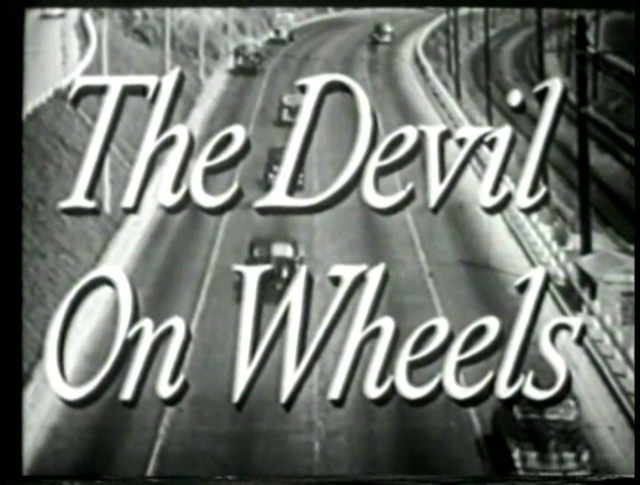 The Devil on Wheels title