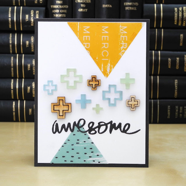 Awesome by Jennifer Ingle #JustJingle #PinkfreshStudio #Cards
