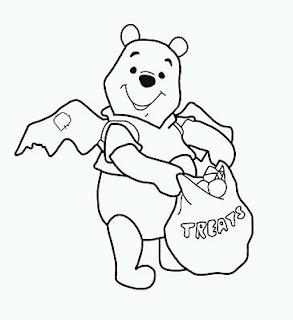 Dibujos de Winnie Pooh para Pintar, parte 9