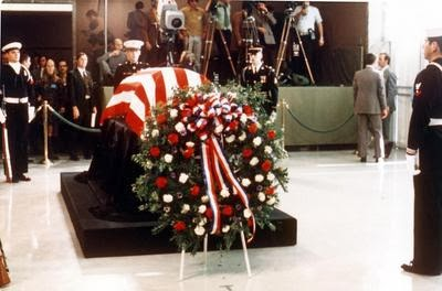 JFK + 50: CHURCHILL SPEAKS, TRUMAN DIES Harry Truman Funeral 1972