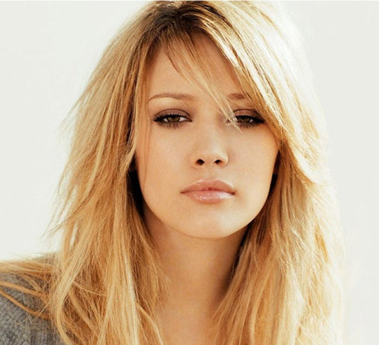 ... And Tattoos: hairstyles for long hair with layers and side fringe