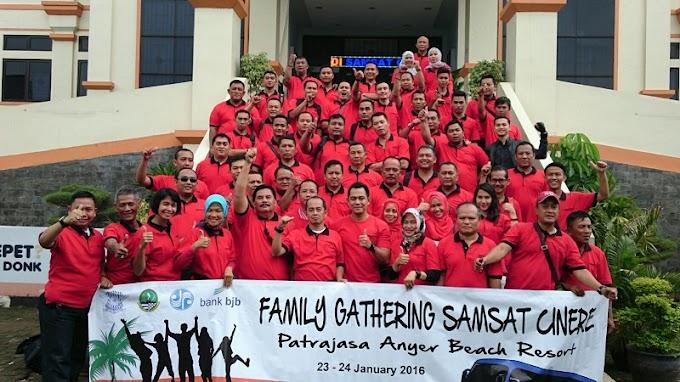 Samsat Cinere Gelar Family Gathering