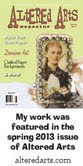 Altered Arts Magazine April 2013