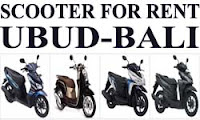 Scooter Rental in Ubud, Bali