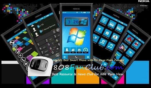 Lumia Blue is an elegant Windows Phone theme for your Nokia Symbian ...