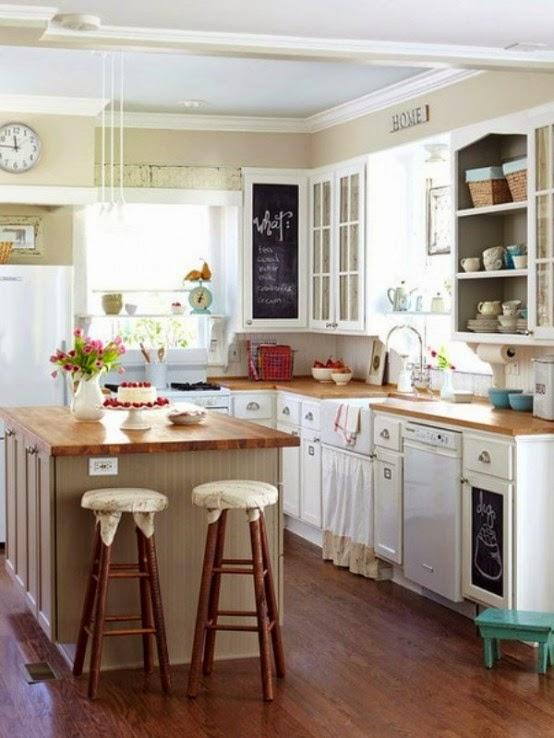 Decotips 5 tips para decorar cocinas peque as virlova - Decorar cocina pequena ...