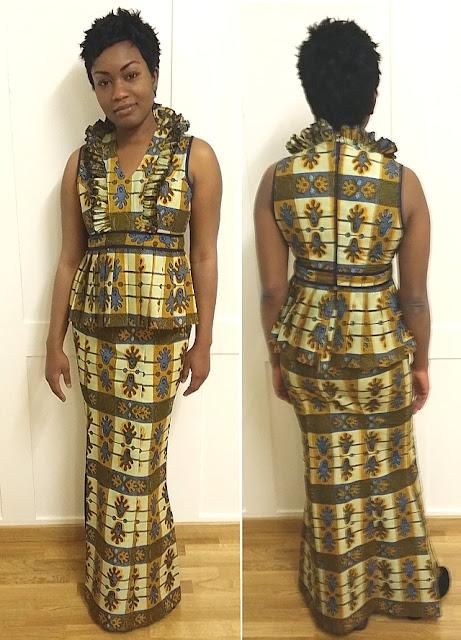 Afrikanisches Kleid
