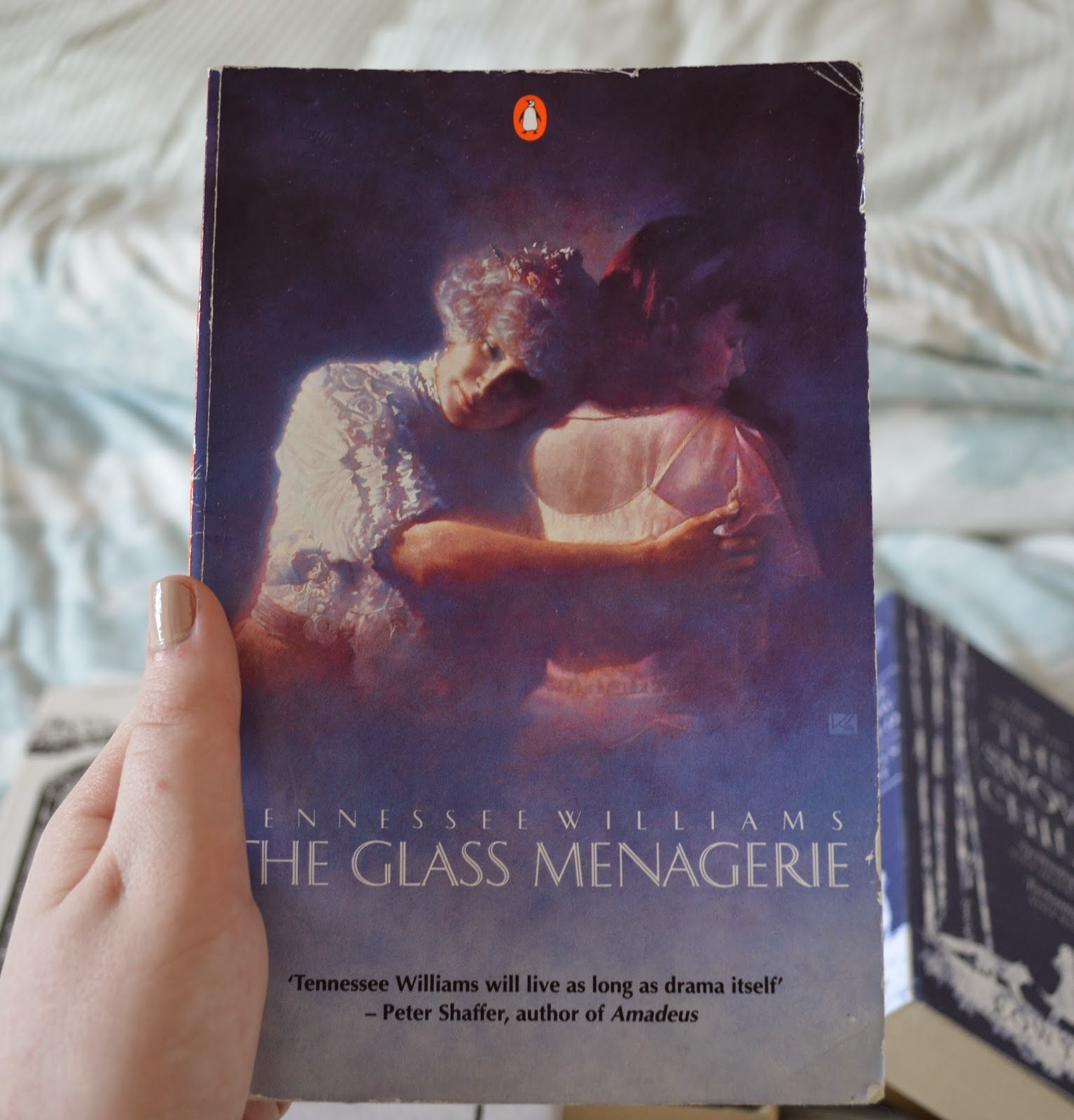 photo, photography, list, mother's day, recommendations, paperback, Tenne family centred, literature, suggestions, Tennessee Williams, The Glass Menagerie