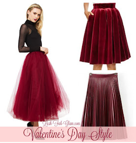 What To Wear: Goregous outfit ideas for Valentine's Day.