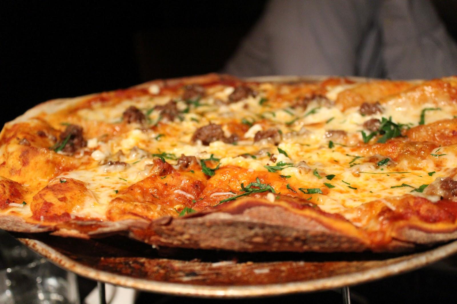 Cotechino Sausage Pizza At Russell House Tavern, Cambridge, Mass.