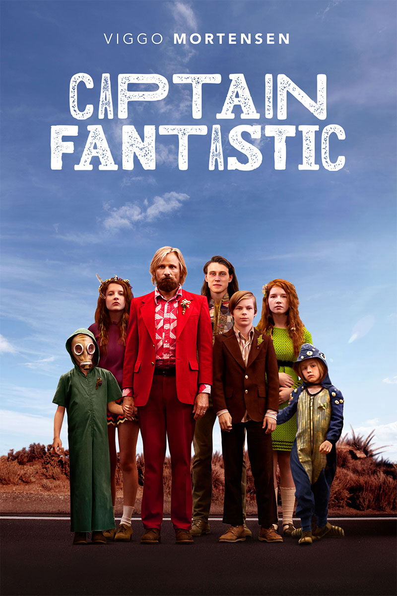Poster de Captain Fantastic