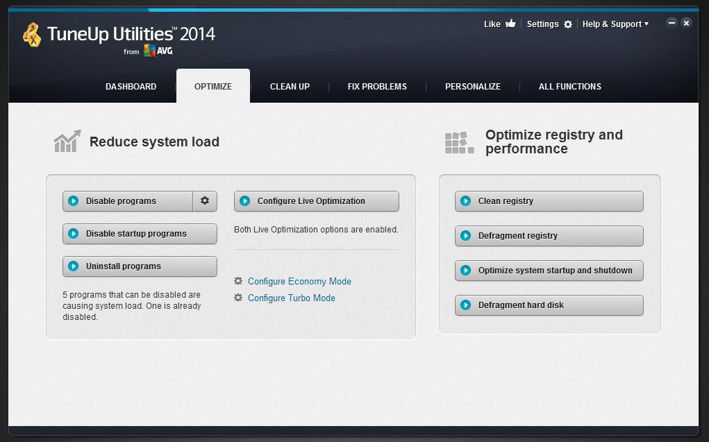 Download TuneUp Utilities 2014 Terbaru Full Version