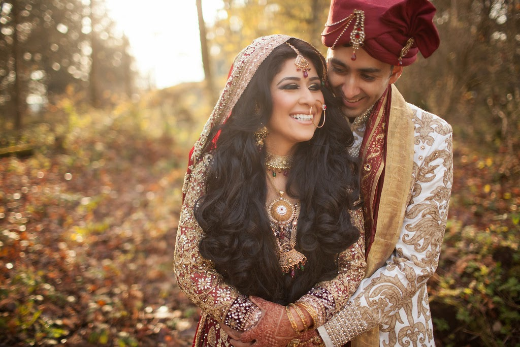 indian wedding, south asian wedding, wedding portraits