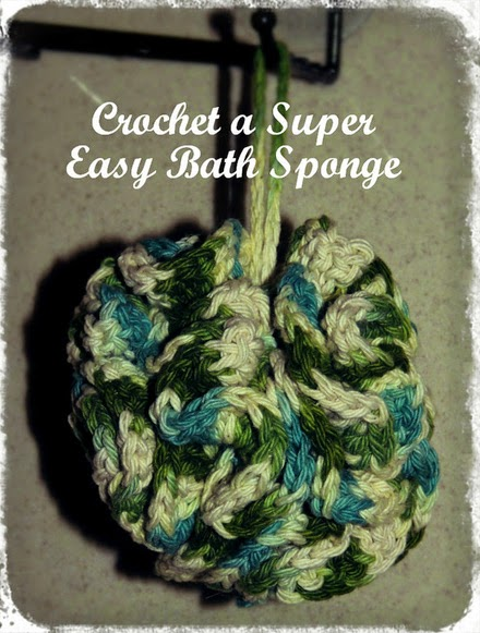 free crochet pattern link for a bath scrub
