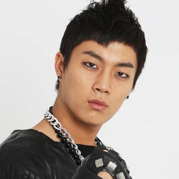 Yoon doo joon short Mohawk Hairstyle
