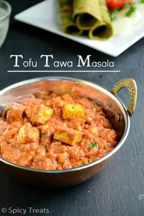 Tofu Tawa Masala