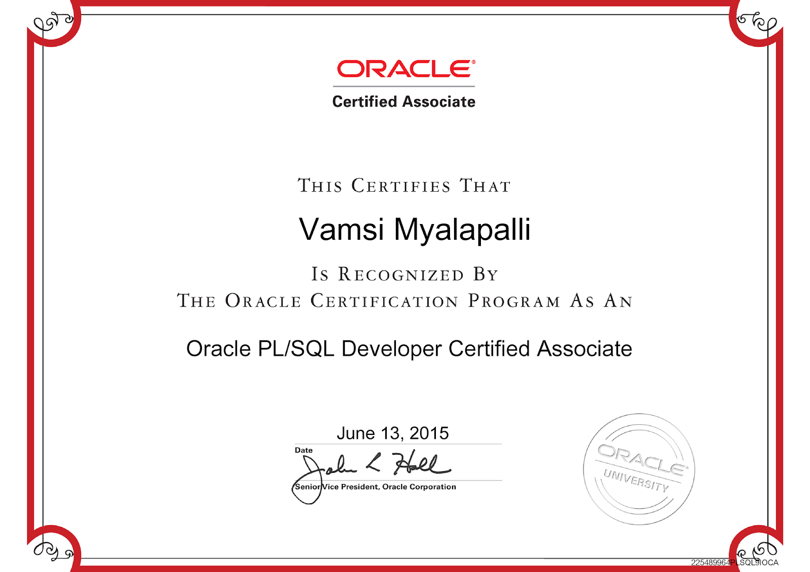 Vamsi krishna myalapalli vamsi krishna myalapalli oracle certified pl sql developer 1betcityfo Image collections