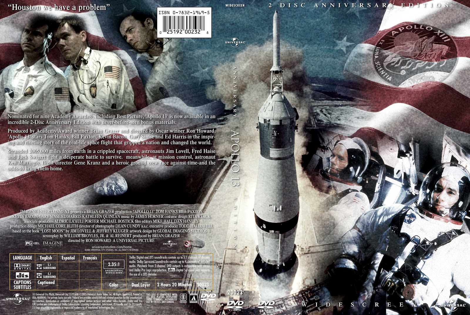 Capa DVD Apollo 13 2 Disc Anniversary Edition