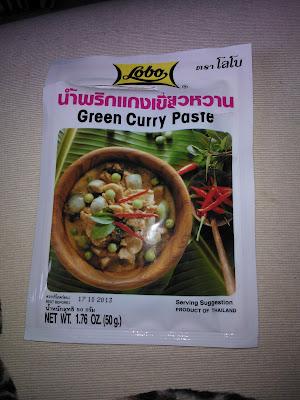 Authentic Thai Green Curry Paste Bristol