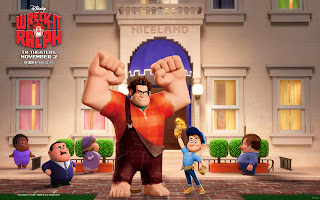 Wreck It Ralph 3D Animation Movie HD Wallpaper