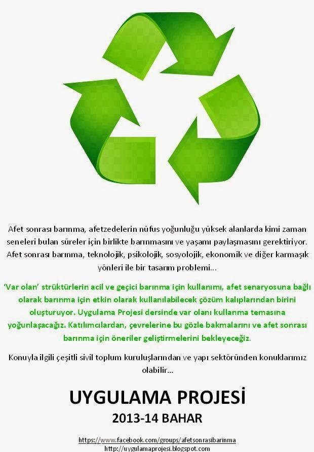 Uygulama Projesi / 2013-14 Bahar