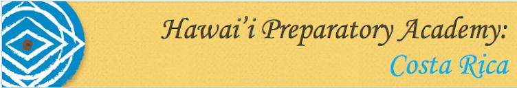 Hawai'i Preparatory Academy: Costa Rica 2016