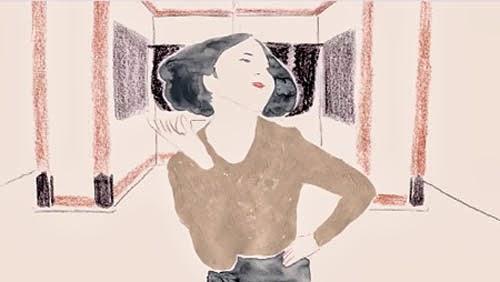 水彩画風の手描きロトスコープと呼ばれる実写をトレースした手法でアニメーションを制作する「しし やまざき」さんがなかなか良い。