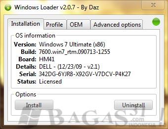 Windows Loader 2.0.7 Terbaru 2011 2