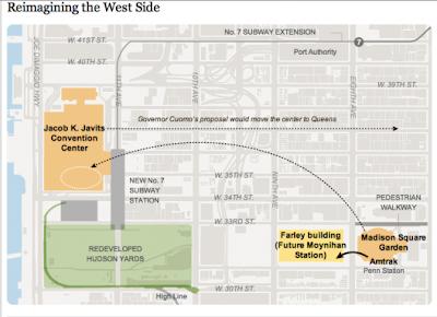 Michael Kimmelman's Plan for Penn Station © The New York Times
